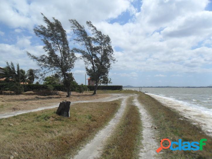 Linda Área de frente para a Lagoa com 3.000 m2, com vista