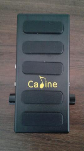 Pedal Caline CP-31P (Volume e Booster c/ controle