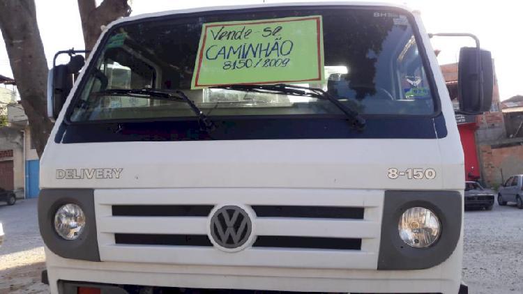 VENDO CAMINHÃO 8150 ANO 2009 ÚNICO DONO