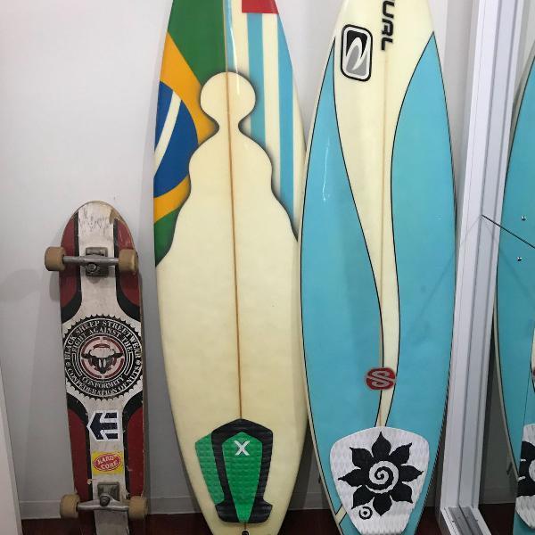 1 prancha + longboard