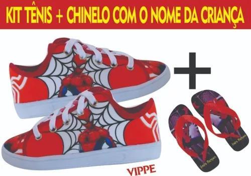 Tênis Infantil Escola Aula Menino Criança Sapato H2 Barato