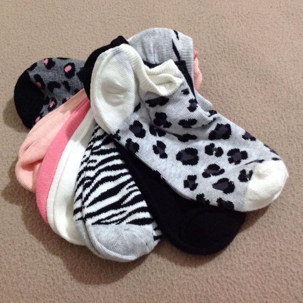 conjunto 7 pares de meias Fashion made in ITALY!