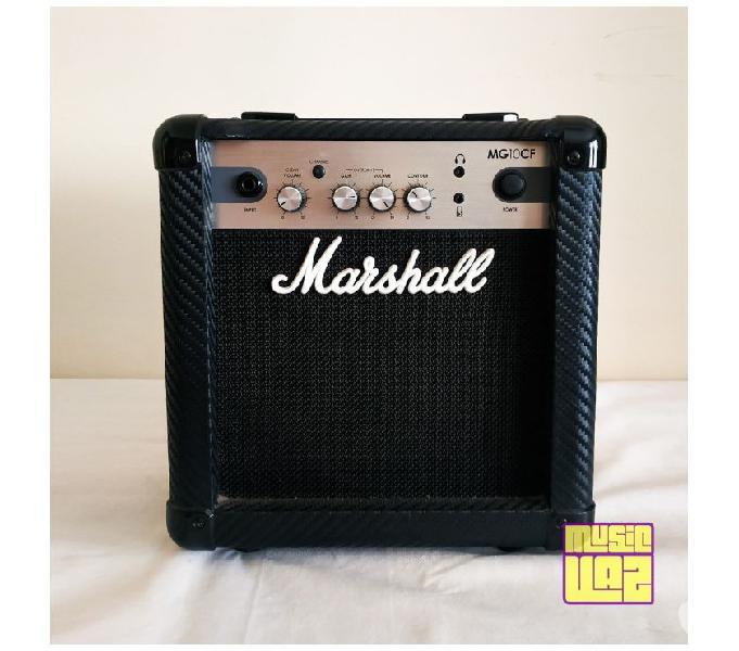 Cubo Amplificador Guitarra Marshall MG10CF 10W