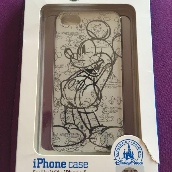 Capinha Case iPhone 5 / 5S - Disney Parks