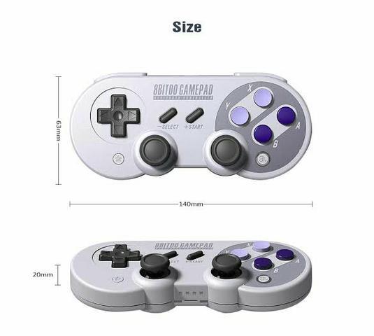 Controle de Snes para Nintendo Switch e PC