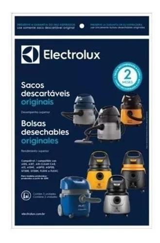 Kit 03 Sacos Filtro Aspirador De Pó Descartável Electrolux