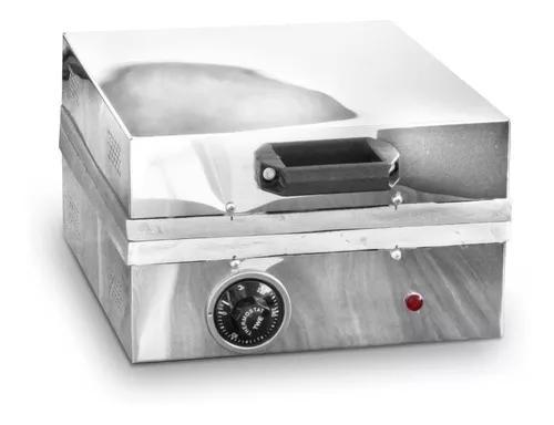 Maquina De Crepe 12 Cavidades Crepeira Elétrica + Brinde