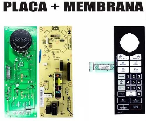 Placa Controle + M