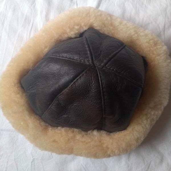 chapéu com pele