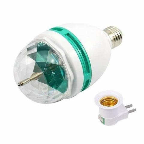 COD:  Lâmpada De Led Colorido Giratória Rotativa Bola