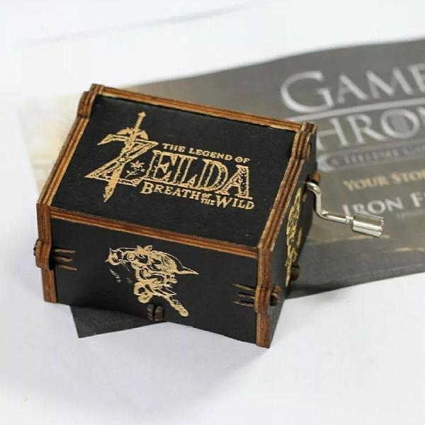 Caixinha de Música Tema Zelda