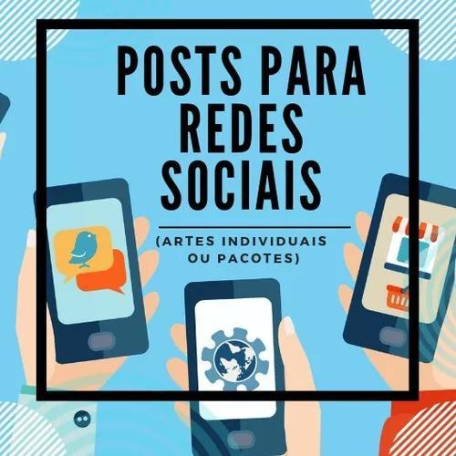 Criação De 10 Posts Para Redes Sociais