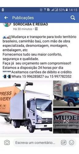 Mudanças E Transportes Para Todo Brasil