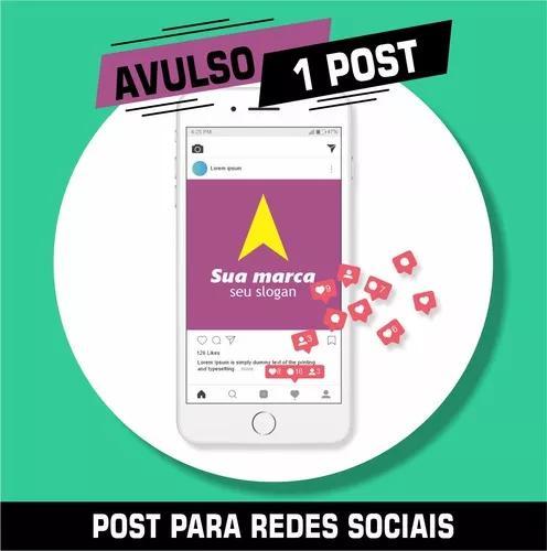 Post Avulso Para Redes Sociais