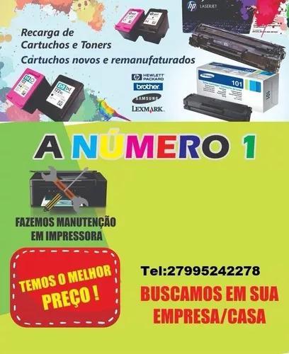 Recarga De Cartuchos De Tinta E Toner / Manutenção De
