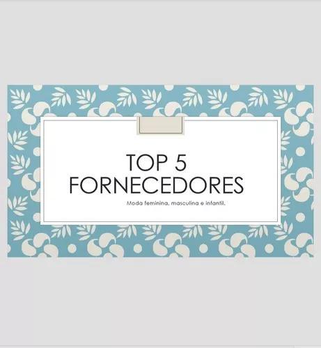 Top 5 Fornecedores De Moda: F