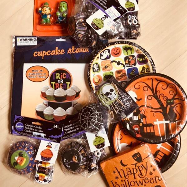 kit festa de halloween