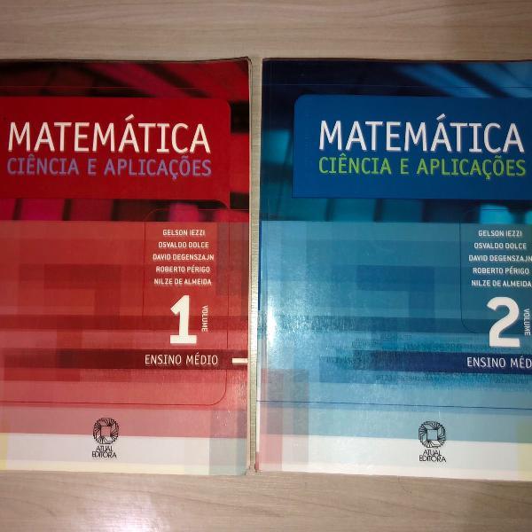 livro de matemática para ensino médio vol 1 e 2