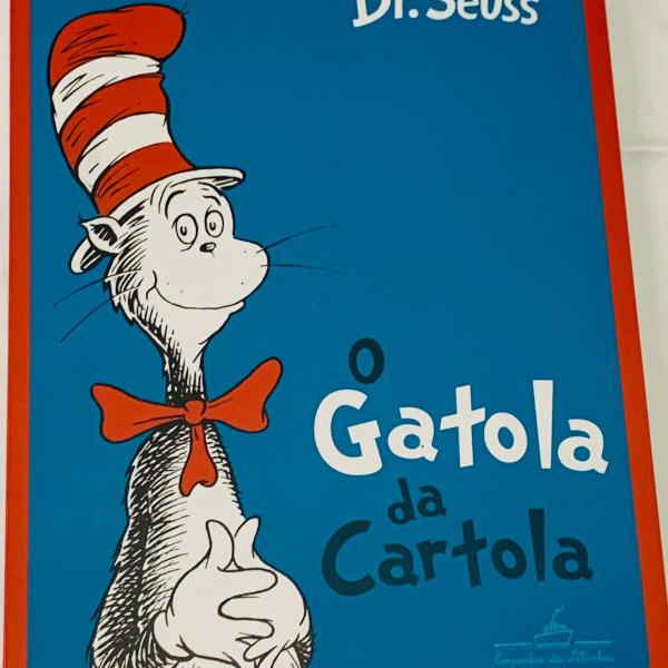 livro infantil - o gatola da cartola