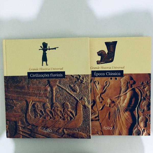 livros de história da época clássica e civilizações