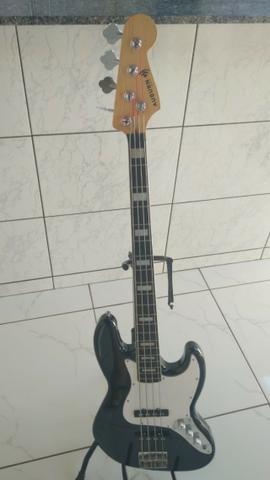 Baixo 4 cordas jazz bass - Auburn