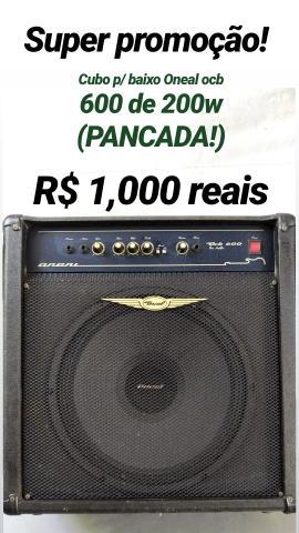 Cubo p/ baixo Oneal ocb 600 de 200w (PANCADA!)