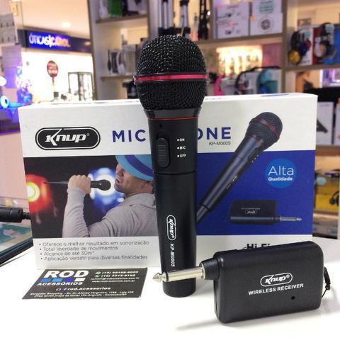Microfone Sem Fio Profissional Kp-m - Knup
