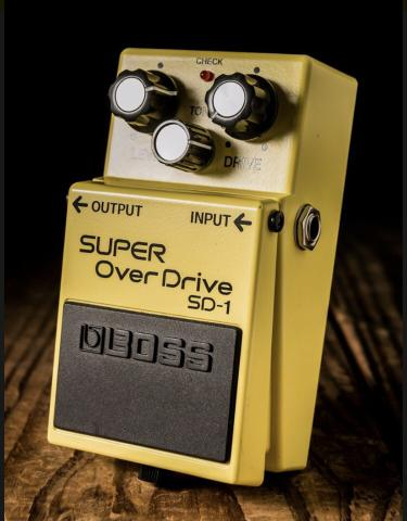 PedaPedal Super Overdrive SD1 BOSS para guitarra