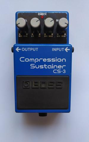 Pedal De Guitarra Cs-3 Compressor Sutainer