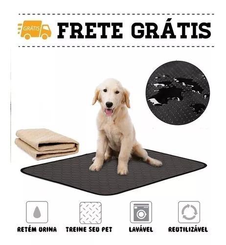 Tapete Higiênico Urina Pet Cachorro Lavável Reutilizável
