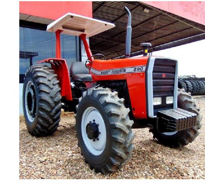 Trator Massey Ferguson 290 4x4 ano 1985 14,99815,4830