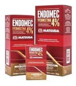 Vermifugo Endomec Ivermectina 4% Matsuda 1 L Set/19