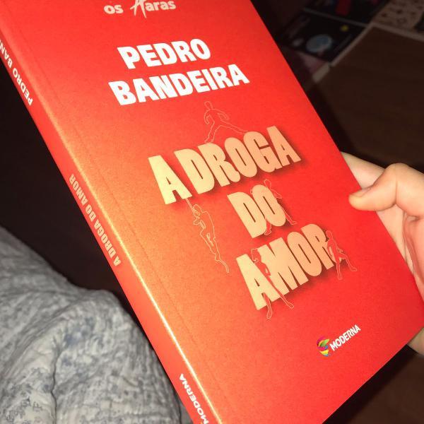 livro a droga do amor pedro bandeira