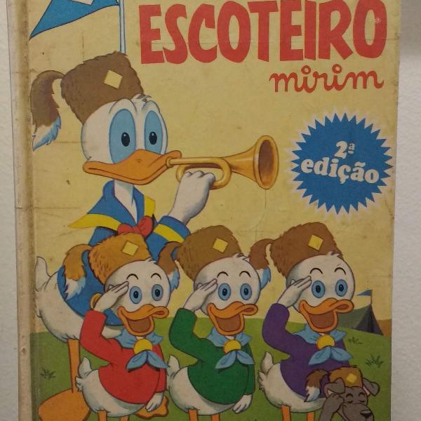 manual do escoteiro mirim 2ª edição - 1971