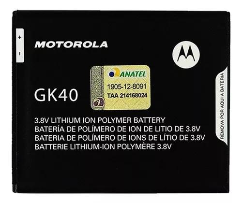 Bateria Moto G5 Play G4 Play Gk40 Original Anatel