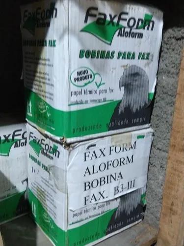 Bobina Para Fax 12 Unidades