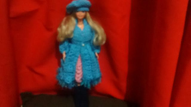 Boneca barbie estrela anos  articulada