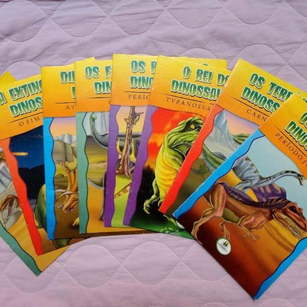 Coleção de Livros Os incríveis dinossauros