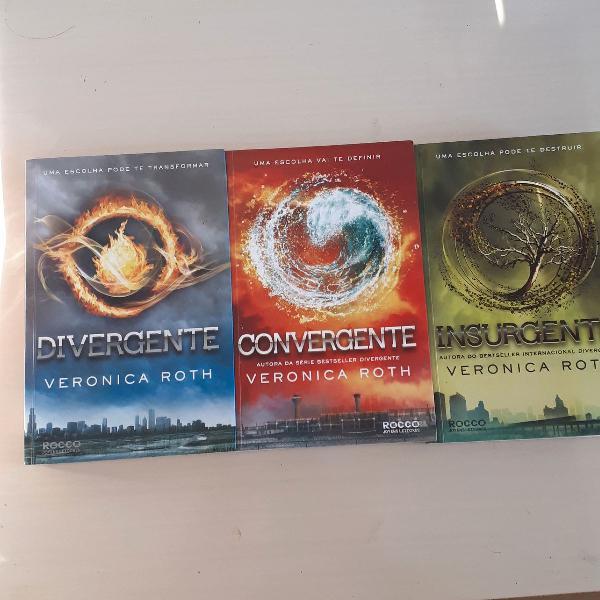 Coleção de livros Divergente