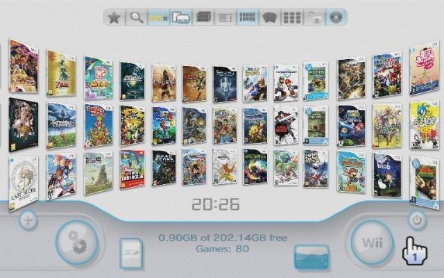 Hd externo com 150 jogos de Nintendo Wii