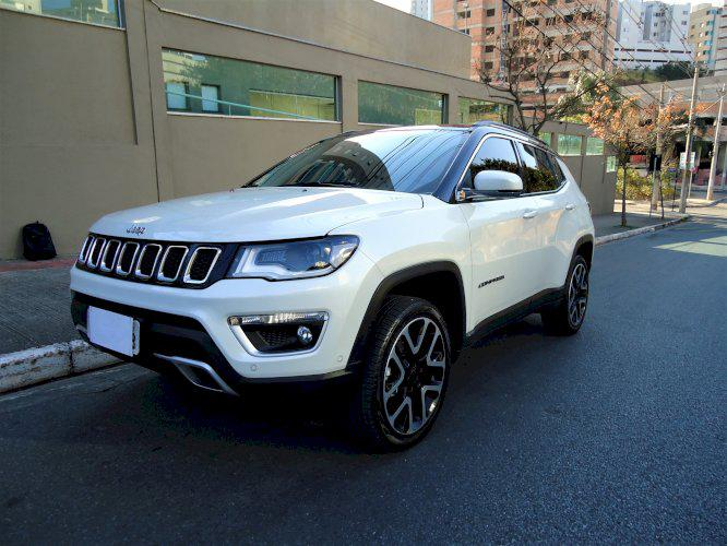 Jeep Compass Limited Ano 2018 Diesel 4x4 Top de Linha
