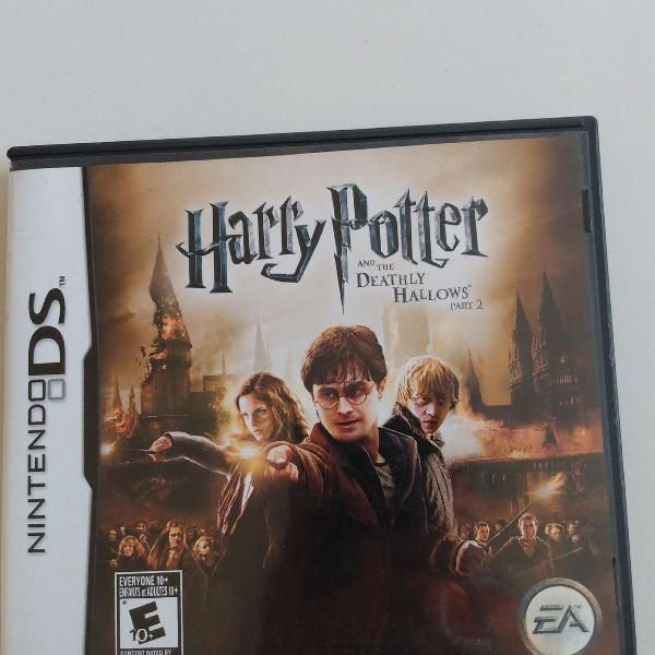 Jogo Nintendo DS Harry Potter and the Deathly Hallows Part 2