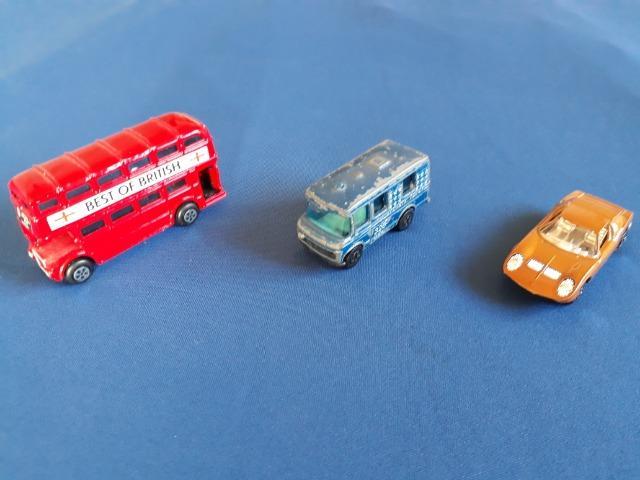 Lote De 3 Miniaturas Playart Escala 1 64