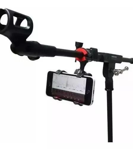 Suporte Celular Pedestal De Microfone Toca Violão