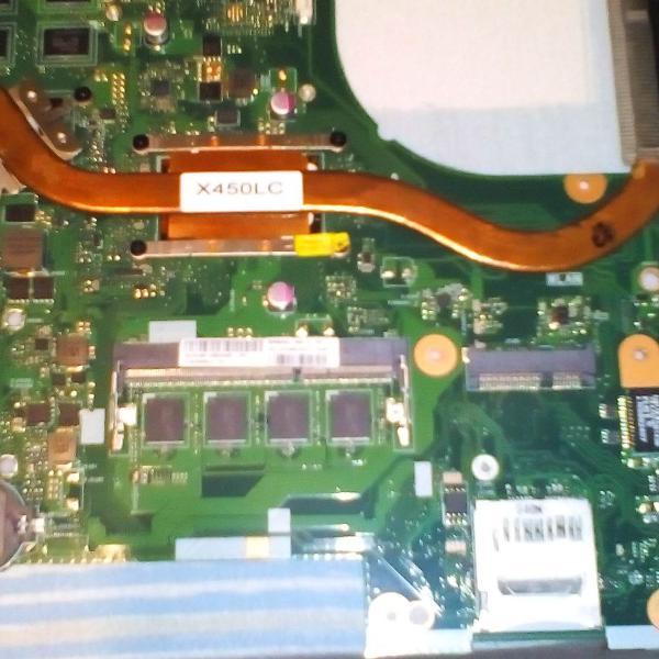peças notebook asus x450lc