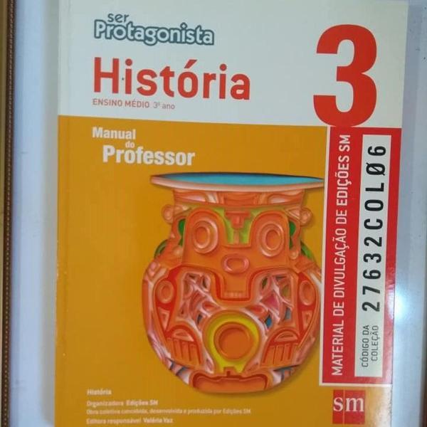 ser protagonista história 3 professor