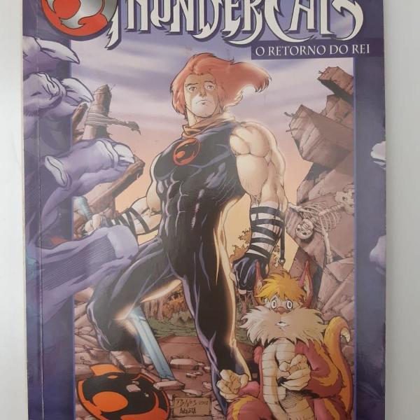 thundercats - o retorno do rei vol. 2 (ed. encadernada)