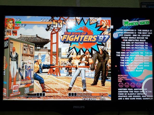 Game Retro com  jogos + 32gb HDMI + 2 controles -