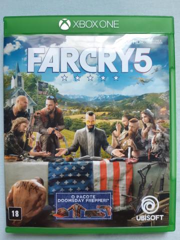 Jogos de Xbox One S Farcry5 Semi Novos Funcionando Tudo