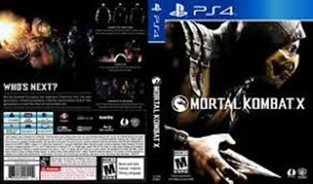 Mortal Kombat X PS4 - mídia física